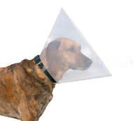 Ветеринарный воротник Trixie (Трикси)  на липучке 50-58 см / 28 см