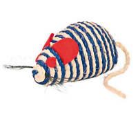 Игрушка для кошек Мышь сизалевая Trixie, 10 см
