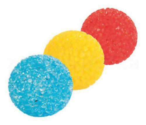 МЯЧ ГЛИССЕР №1. Мяч Глицериновый с колокольчиком Trixie (Трикси), 4 см