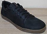 Кроссовки черные мужские из нубука от производителя модель ГЛ19-1Р, фото 3