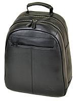Рюкзак Городской кожаный BRETTON BE 8003-73 black.Купить рюкзак городской кожаный, фото 1