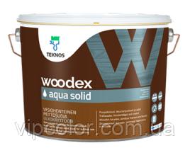 TEKNOS WOODEX AQUA SOLID Антисептик для наружных работ База 3 2,7л
