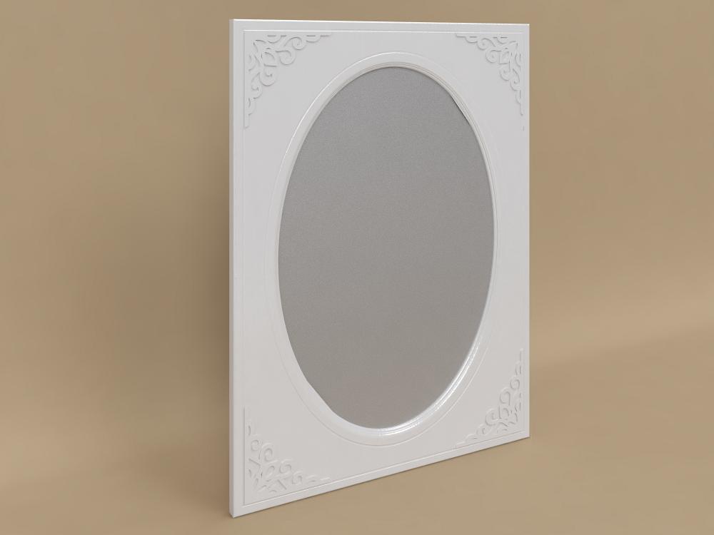 Зеркало Белль АС-07 (Белый)