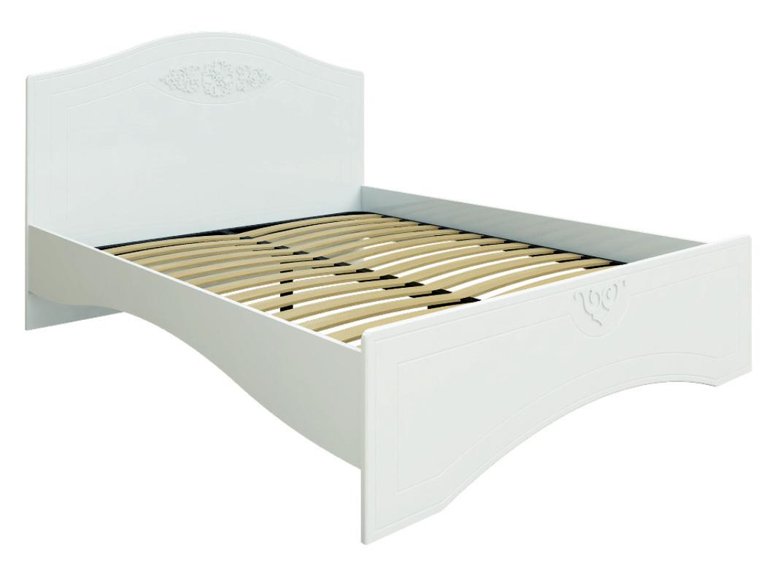 Кровать без ламелей Ассоль АС-11 (160*200/190) (Белый)