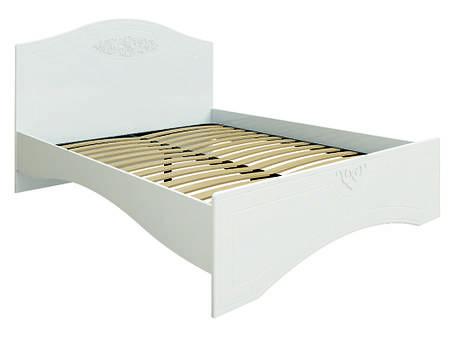 Кровать без ламелей Ассоль АС-11 (160*200/190) (Белый), фото 2