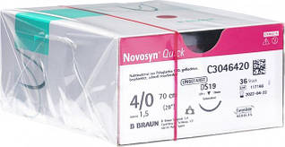 Шовный материал Novosyn Quick
