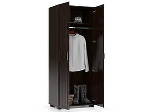 Шкаф платяной Монблан МБ-1 (орех темный), фото 2