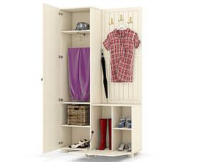 Шкаф комбинированный Монблан МБ-10 (венге светлый), фото 3