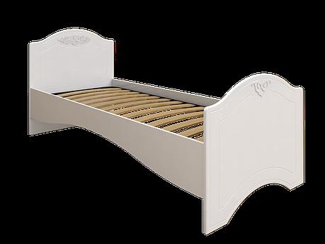 Кровать без ламелей Ассоль АС-09 (80*200/190) (Белый), фото 2
