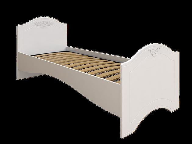 Кровать без ламелей Ассоль АС-09 (90*200/190) (Белый), фото 2