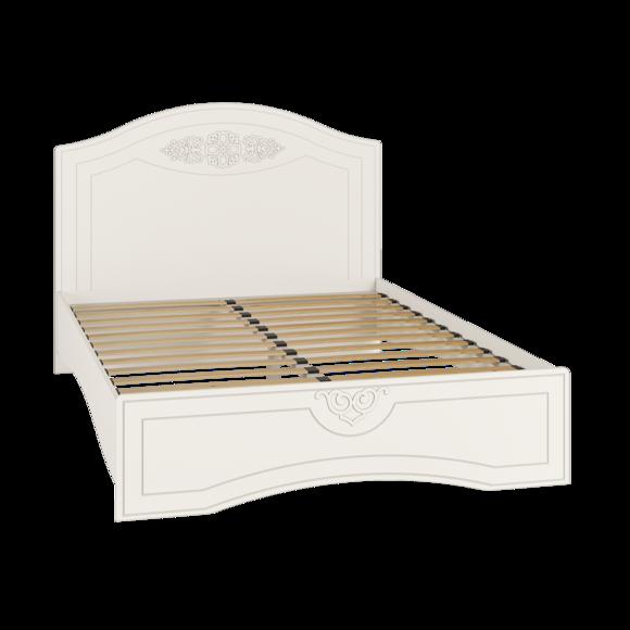 Кровать без ламелей Ассоль АС-11 (140*200/190) (Белый)