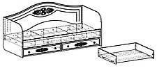 Кровать Белль АС-10 (90*200) (Белый), фото 3