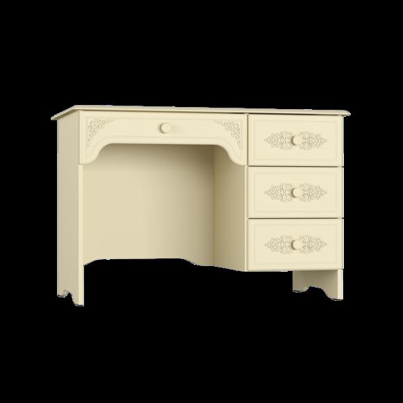 Стол письменный Ассоль Премиум АС-06 (кремовый) (правый или левый)