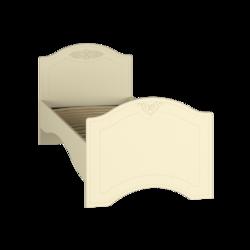 Кровать без ламелей Ассоль Премиум АС-09 (90*200/190) (кремовый)