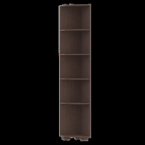 Стеллаж угловой Монблан МБ-4 (Темный орех), фото 2
