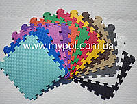 Коврик - пазл для детей и игровых центров, размер 53*53 см толщ 10 мм