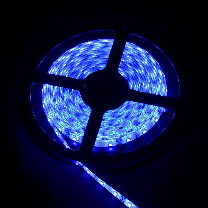 SMD 3528 светодиодная лента 5м Blue 300 диодов