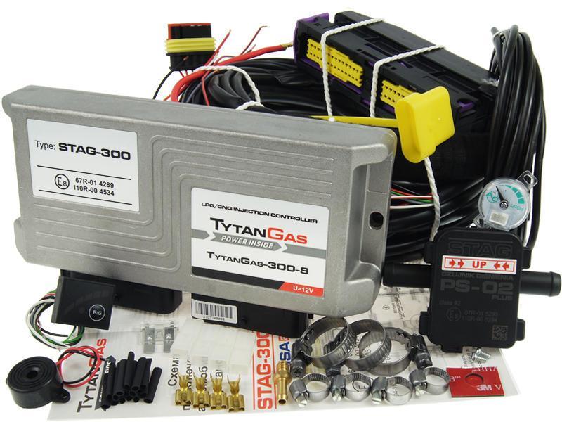 Комплект ГБО Stag 300 TytanGas 300 8 ISA2 8 цилиндров