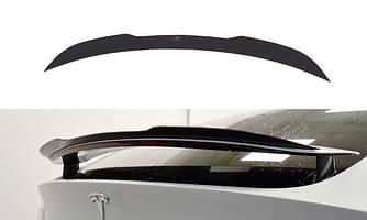 Спойлер Tesla Model X тюнинг сабля (v1)