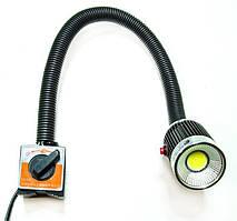 Станочный LED светильник PW- STAN-MAGNES AC/DC 24-36V POWERLUX 5W 6000K