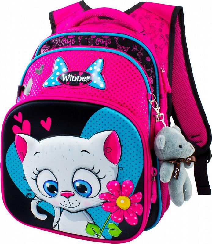 Рюкзак для девочек Winner 8009