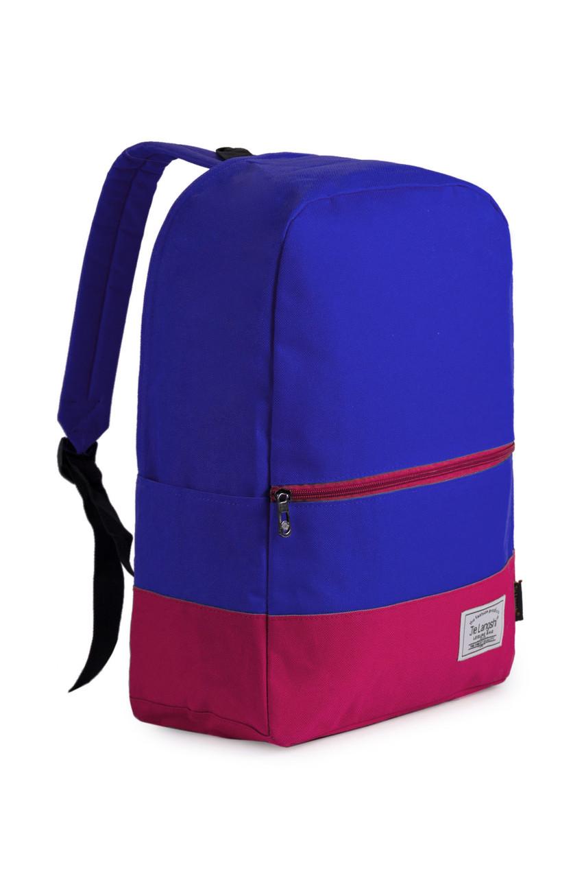 Рюкзак Langshi Blue-Pink