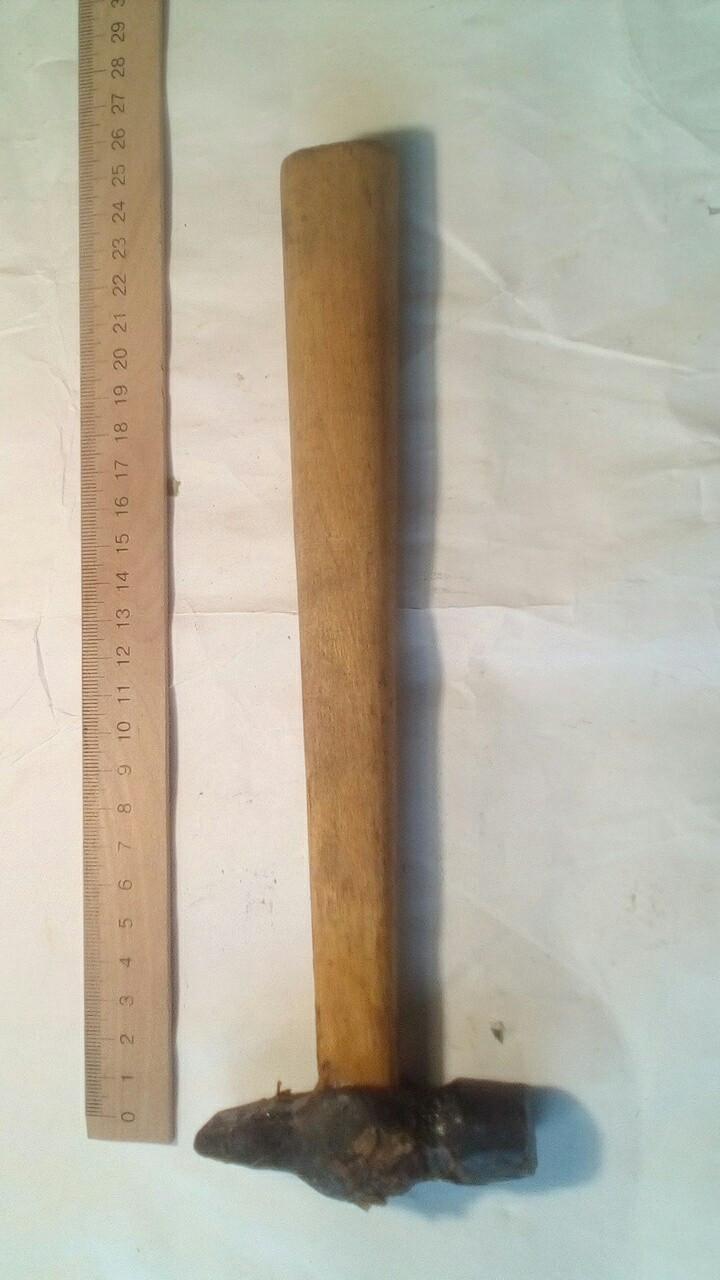 Молоток фигурный 0,2 кг.
