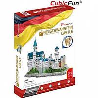 3D пазл CubicFun Замок Нойшванштайн (MC062h-2)