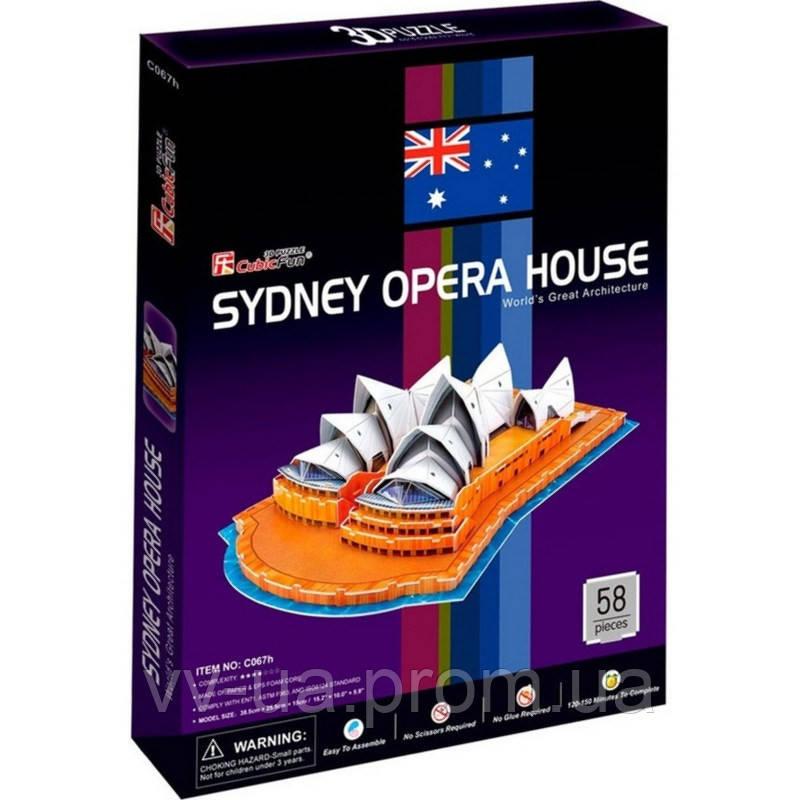 3D пазл CubicFun Сиднейский Оперный театр (C067h)
