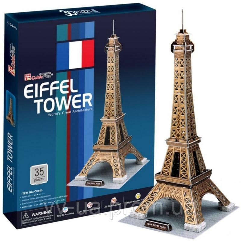 3D пазл CubicFun Эйфелева башня (C044h)