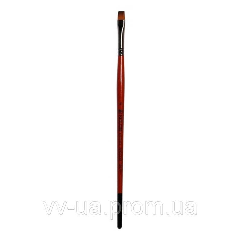 Кисть Kolos Carrot 1097F, синтетика плоская №14 (4210970F14)