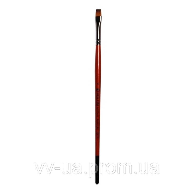 Кисть Kolos Carrot 1097F, синтетика плоская №6 (4210970F06)