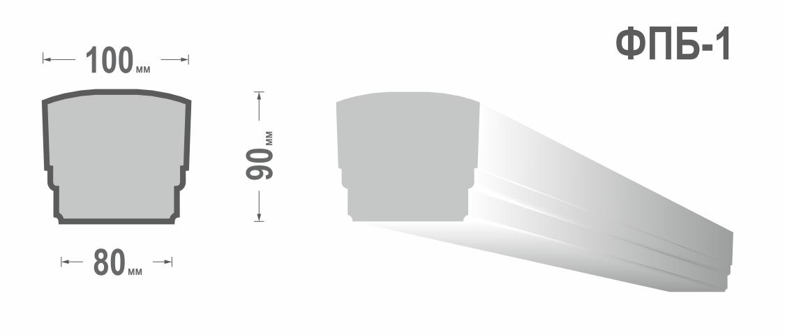 Перила балюстрады ФПБ-1
