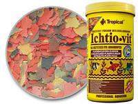 Корм для декоративных рыб Tropical Ichtio - Vit,  1000 мл (200 гр)