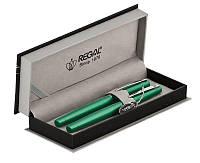 Комплект ручек Regal (перо+роллер) в подарочном футляре P, зеленый (R285422.P.RF), фото 1