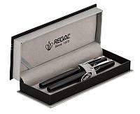 Комплект ручек Regal (перо+роллер) в подарочном футляре P, черный (R285200.P.RF), фото 1