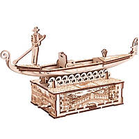 Механический 3D-пазл Wood Trick Гондола (4820195190456)