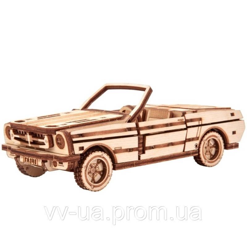 Механический 3D-пазл Wood Trick Кабриолет (4820195190449)