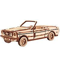 Механический 3D-пазл Wood Trick Кабриолет (4820195190449), фото 1