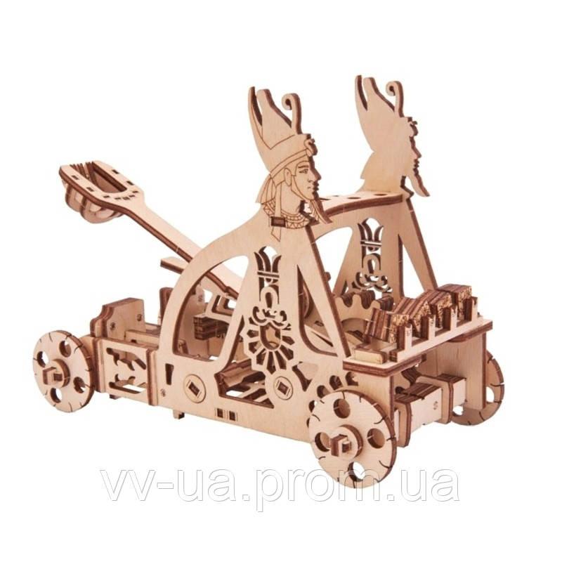 Механический 3D-пазл Wood Trick Катапульта (4820195190067)