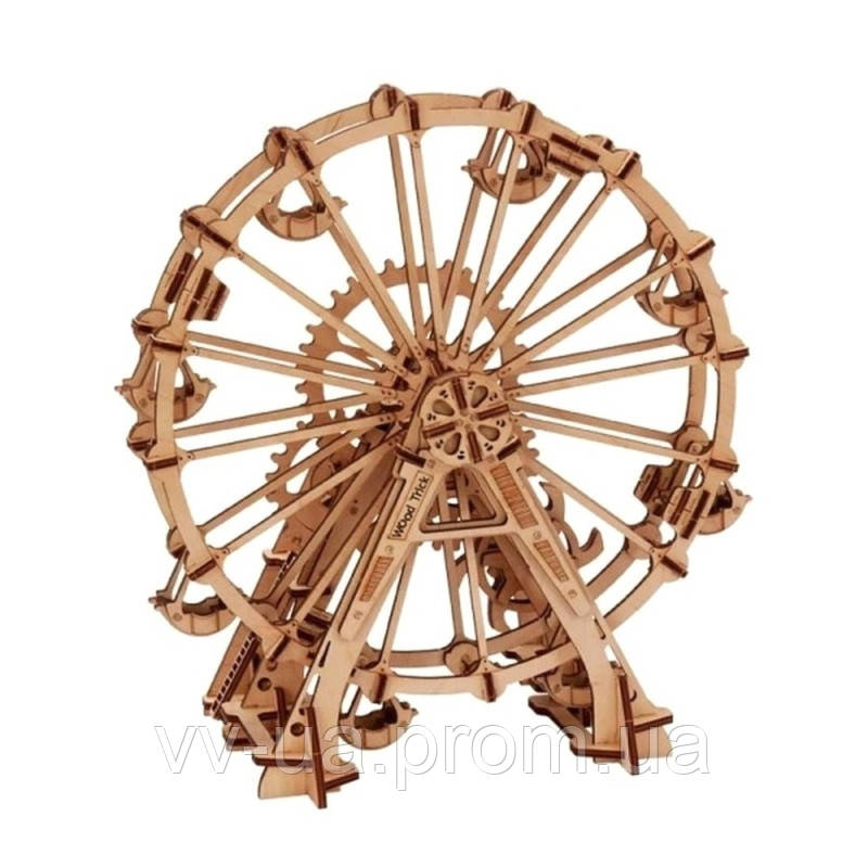 Механический 3D-пазл Wood Trick Колесо обозрения (4820195190029)