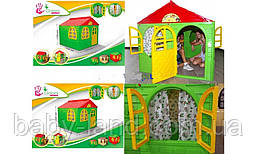 Детский игровой домик пластиковый для дома и улицы Doloni 02550/3
