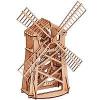 Механический 3D-пазл Wood Trick Мельница (4820195190012), фото 1