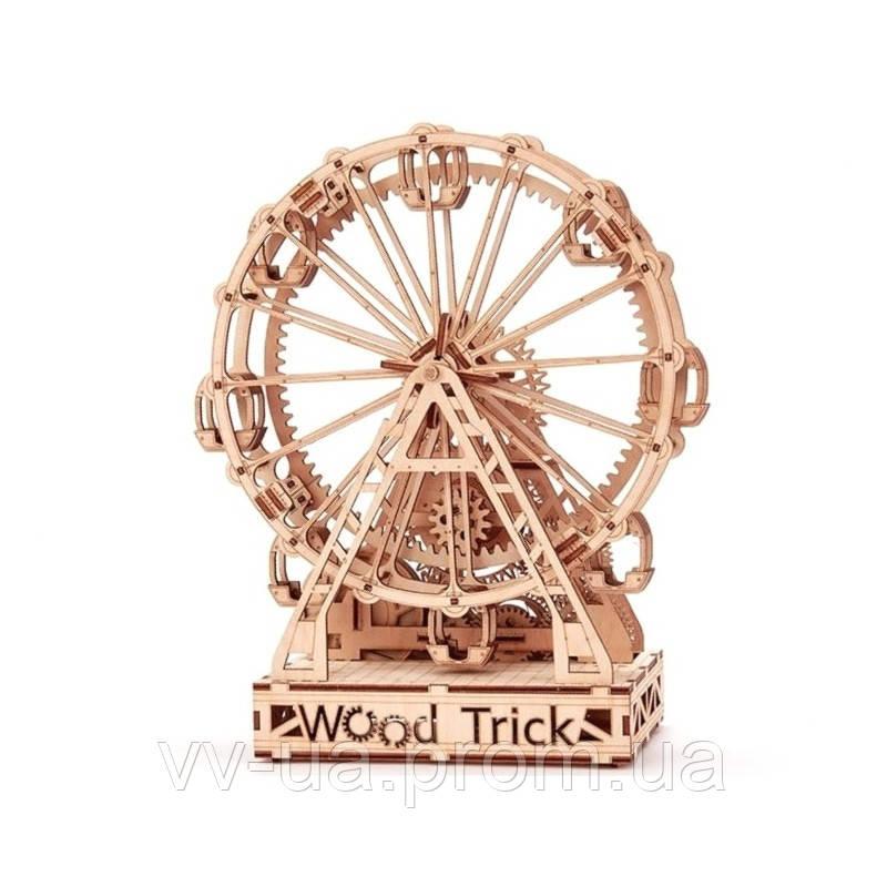 Механический 3D-пазл Wood Trick Механическое колесо обозрения (4820195190470)