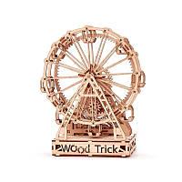Механический 3D-пазл Wood Trick Механическое колесо обозрения (4820195190470), фото 1