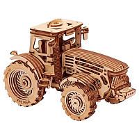 Механический 3D-пазл Wood Trick Трактор (4820195190333), фото 1