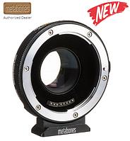 Metabones Canon EF to MFT T Lens Adapter 0.58x for Blackmagic Design Super 16 Cameras (Black) (MBSPEF-M43-BT7)
