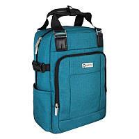 Рюкзак-сумка Optima с отделением для ноутбука, голубой O86241