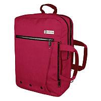 Рюкзак-сумка Optima с отделением для ноутбука, женский, красный (O97518-02)