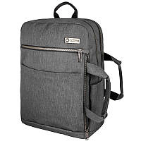 Рюкзак-сумка Optima с отделением для ноутбука, серый O97517-02